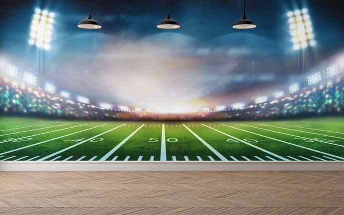 Football Field  - 051 - Wall Murals Printing - wall art