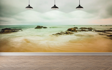Beach with Rocks - 022 - Wall Murals Printing - wall art