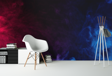 Blue & Purple Smoke - 031 - Wall Murals Printing - wall art