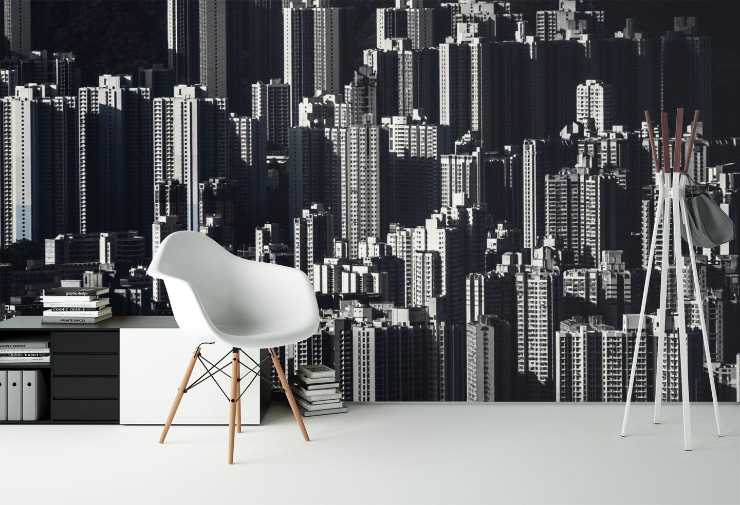 Grey City - 0191 - Wall Murals Printing - wall art