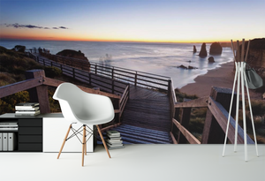 Stairs to the Beach   - 0228 - Wall Murals Printing - wall art