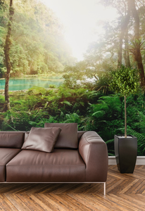 Green Forest - 0214 - Wall Murals Printing - wall art