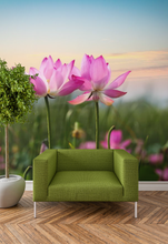 Pink Flowers - 027 - Wall Murals Printing - wall art