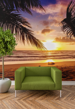 Sunset on the Beach  - 02173 - Wall Murals Printing - wall art