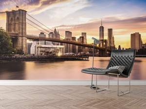 City Sunset - 0122 - Wall Murals Printing - wall art