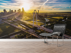 Beautiful Bridge Sunset - 01101 - Wall Murals Printing - wall art