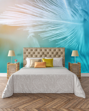 Blue Feathers   - 0358 - Wall Murals Printing - wall art