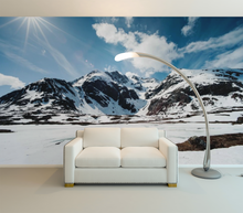 Mountain with Snow - 02163 - Wall Murals Printing - wall art
