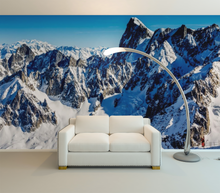 Mountains with Snow - 0284 - Wall Murals Printing - wall art
