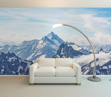 Snow in the Mountains - 0216 - Wall Murals Printing - wall art