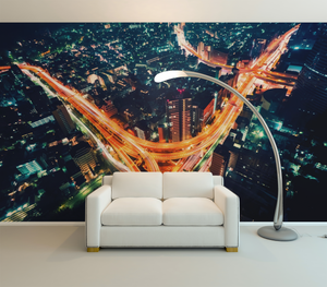 Highway from top - 0137 - Wall Murals Printing - wall art