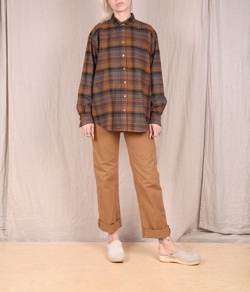 Hartford-Charlot Flannel Button Down // PLAID