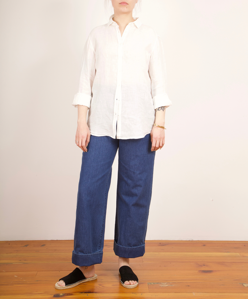 Hartford-Corazon Linen Button Down