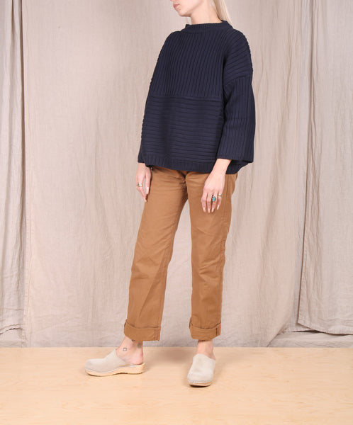 Kowtow- Direction Jumper // NAVY