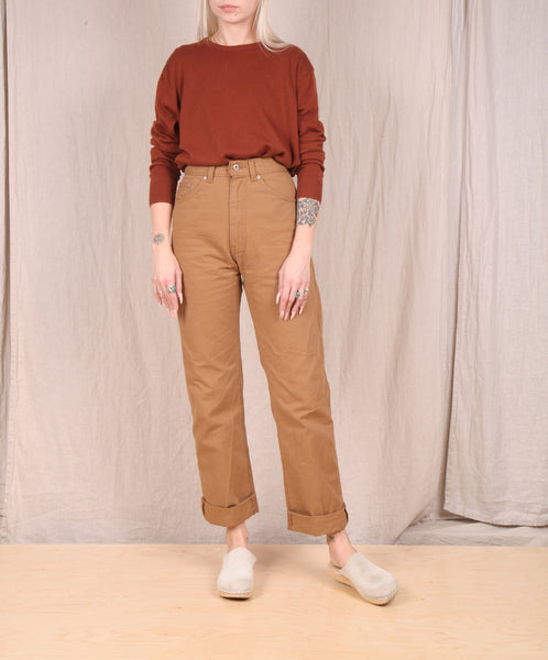 Kowtow- Freya Top // Earth Brown