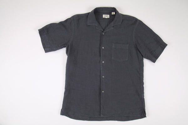 Hartford-S/S Linen Button Down