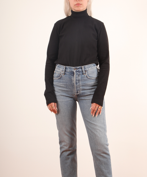 Kowtow-Rib High Neck Top