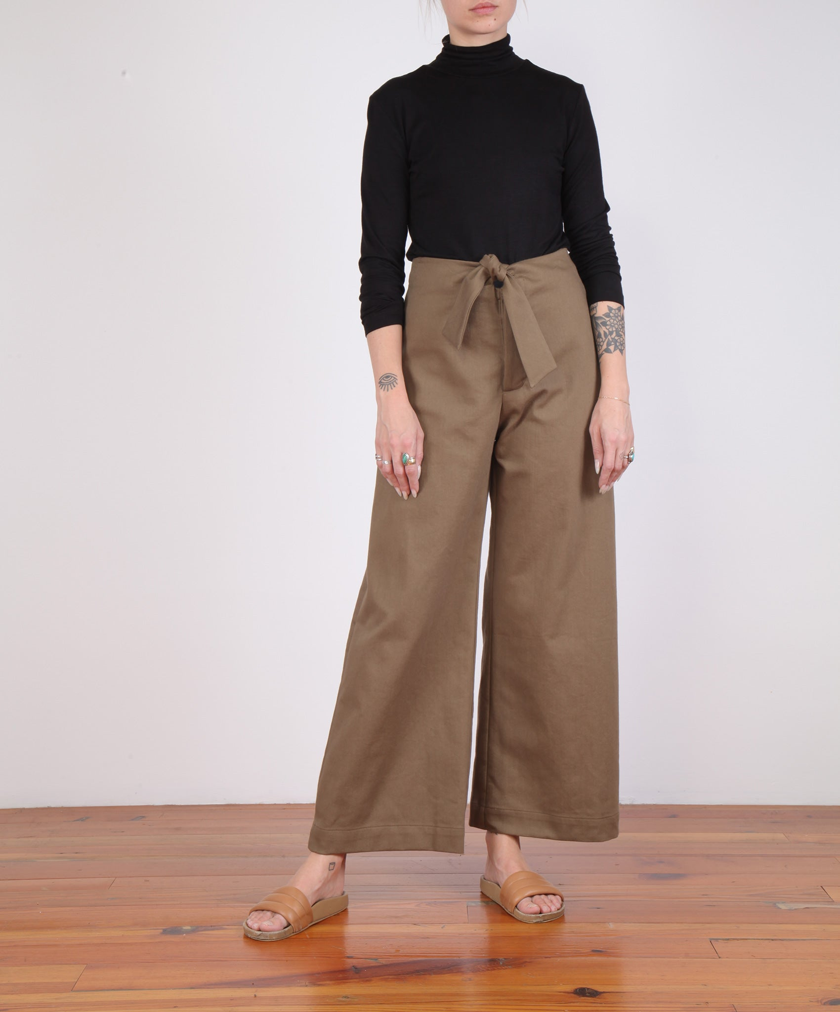 Micaela Greg-Knotted Sailor Pant