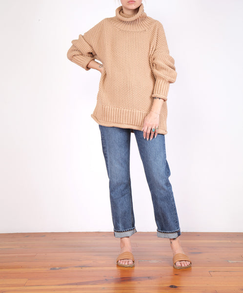Micaela Greg-Roll Neck Sweater