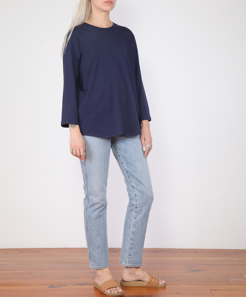 Kowtow-Scoop Hem Top