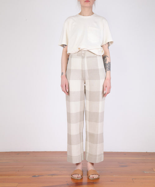 Ali Golden-Silk Fly Front Pant