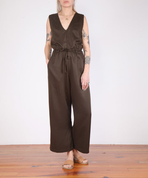 Ali Golden-Twill Slit Back Jumper
