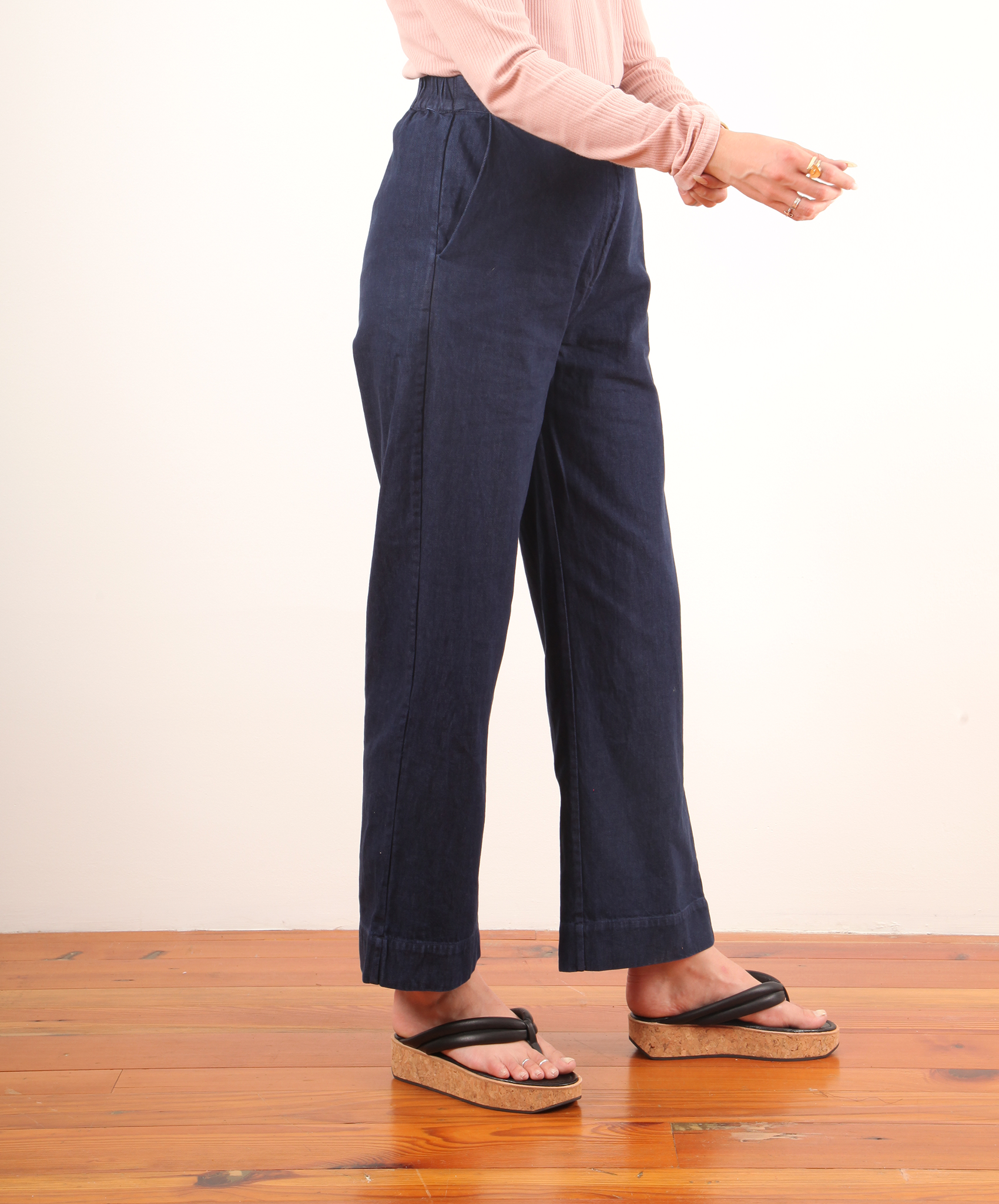 Ali Golden-Straight Leg Pant