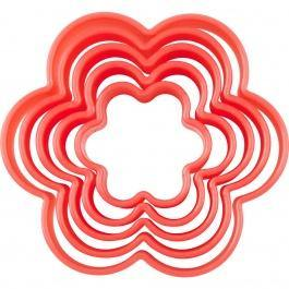 S/5  Cookie Cutters - Flower