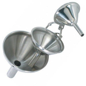 Set of 3 Mini S/S Funnels