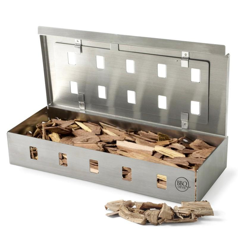 S/S Wood Chip Smoker Box
