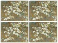Placemats S/4 - Dogwood In Spring Pimpernel