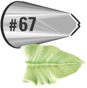 Wilton Cake Decorating Tip #67 Leaf