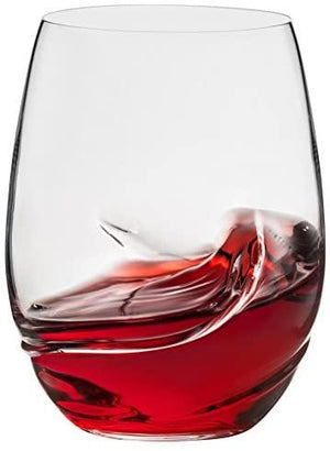 Trudeau Gem Stemless Wine Glass