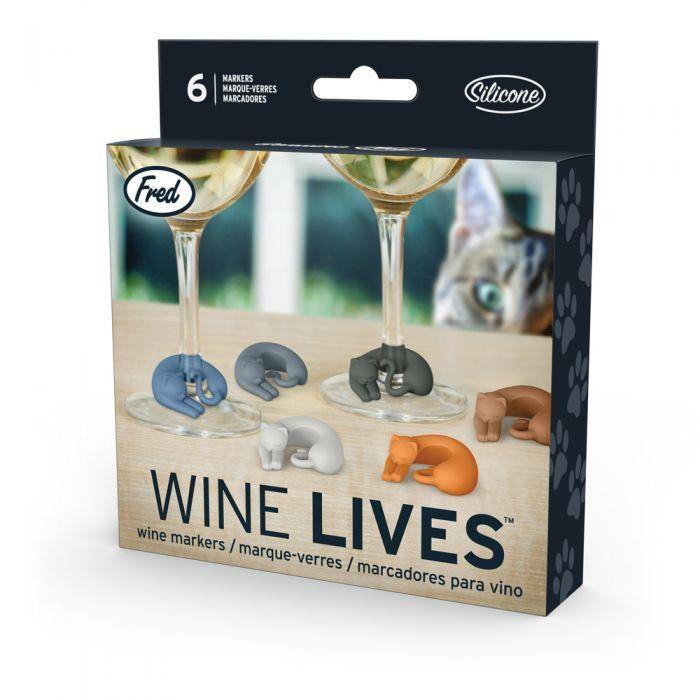 Wine Markers - Wine Lives Fred