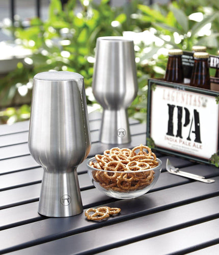 Stainless Steel IPA Glasses Outset