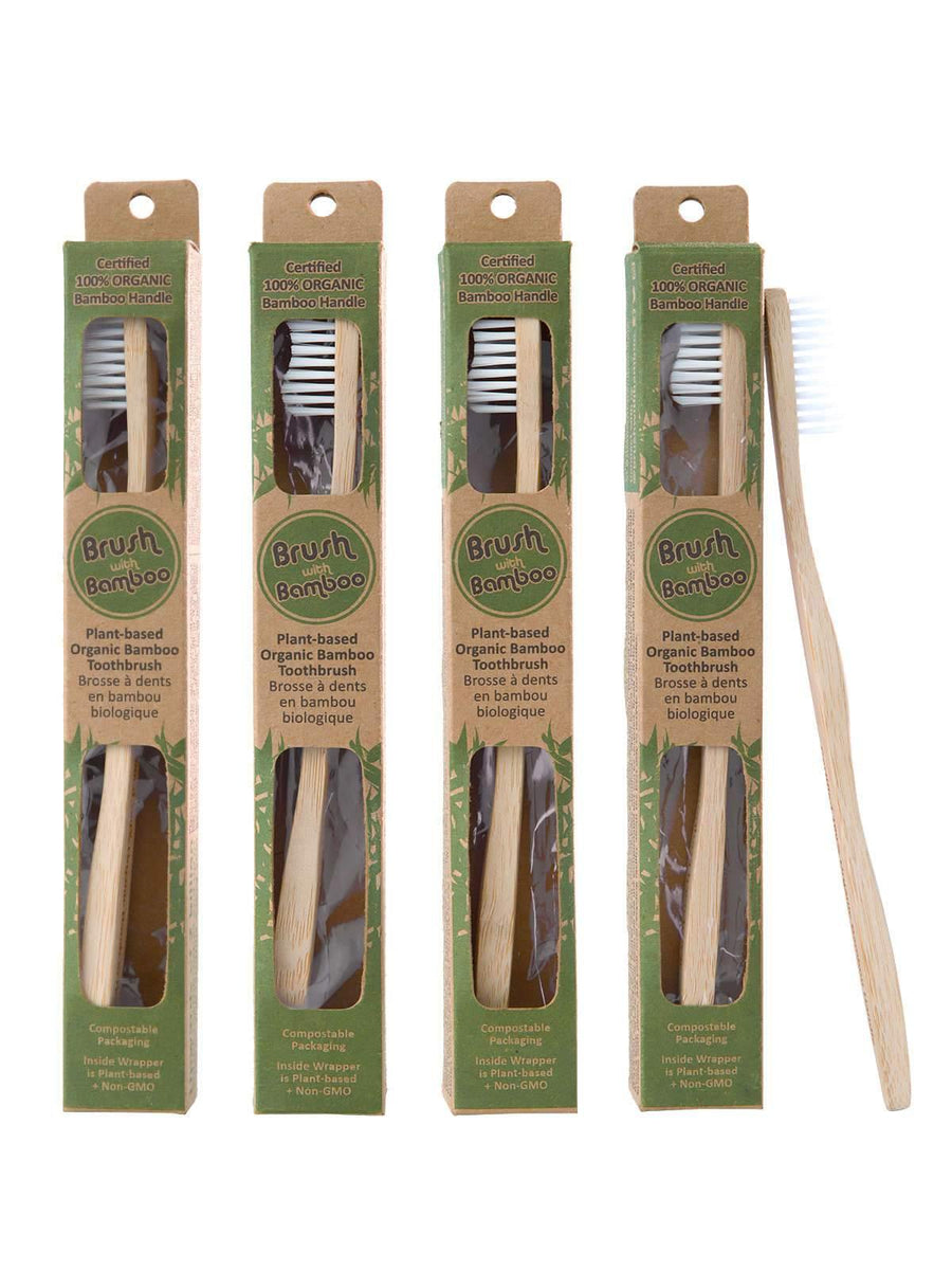 Adult Bamboo Toothbrush Everbamboo