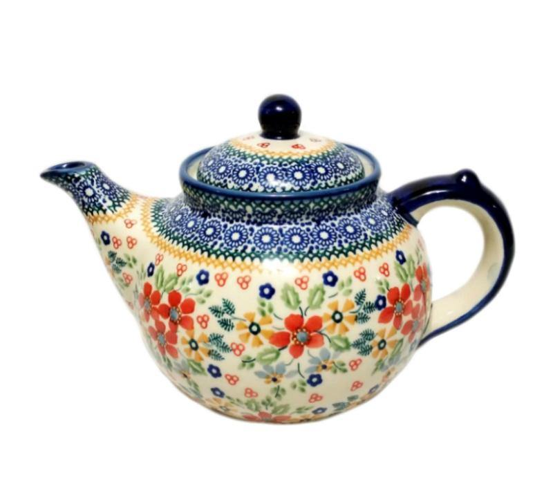 Afternoon Teapot - Summer Joy Polish Pottery