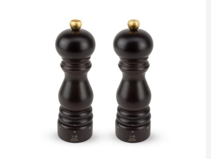 Peugeot Paris U'Select Chocolat Salt & Pepper Mill Set 18 cm