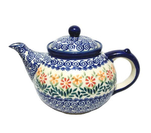 Afternoon Teapot - Spring Morning Polish Pottery