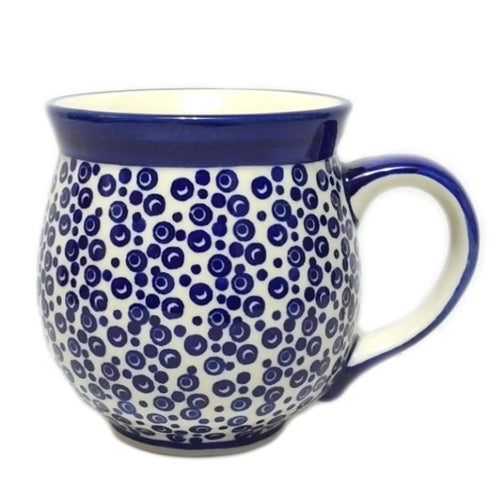 Gentleman's Mug - Bubbles Polish Pottery