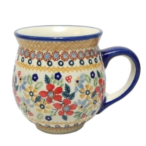 Gentleman's Mug - Summer Joy Polish Pottery