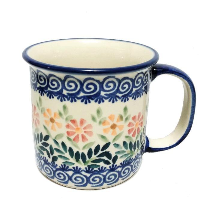 Polish Pottery Canadian Mug - Spring Morning