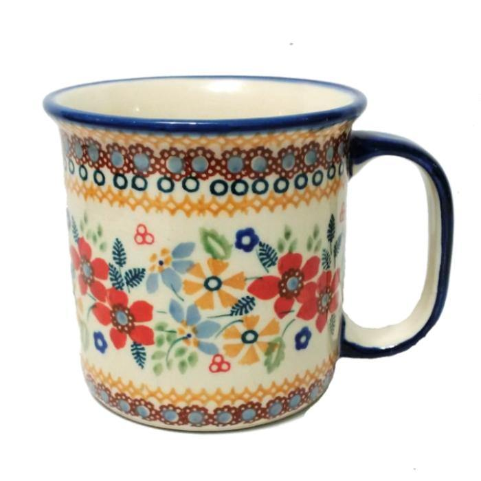 Canadian Mug - Summer Joy Polish Pottery