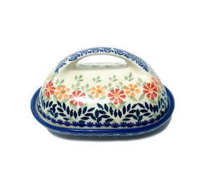 Butter Dish - Spring Morning Polish Pottery