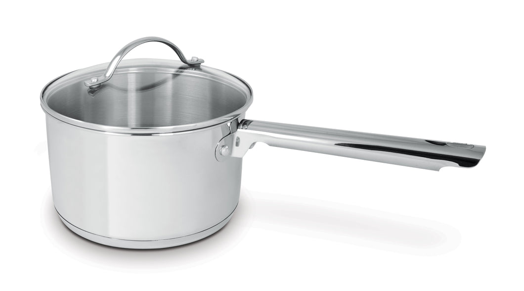 1.9L Saucepan With Glass Lid Cuisinox Deluxe
