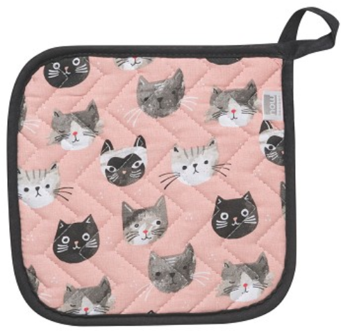 Now Designs Potholder - Cats Meow