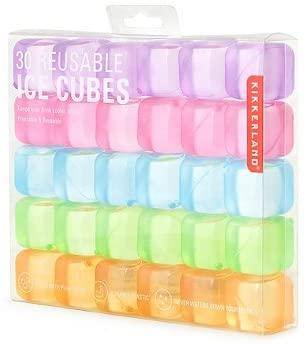 Kikkerland Reusable Ice Cubes - Rainbow