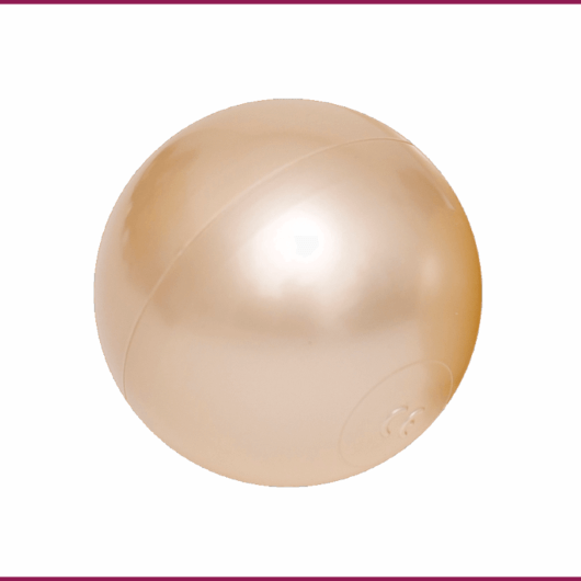 Lot de 50 balles - LIGHT GOLD.