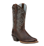"Ariat Ladies ""Legend"" Cowboy Boots – Brown Oiled Rowdy"