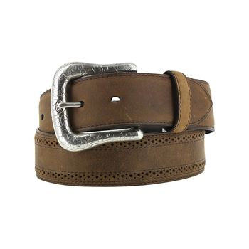 Ariat Men's Basic Western Belt – Distressed Brown
